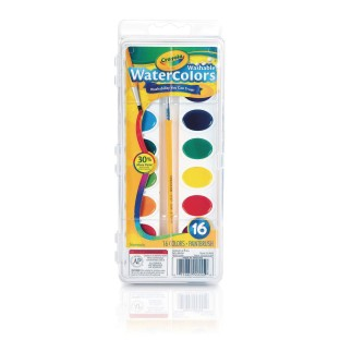 Crayola® Washable Watercolors, 16 Colors - Image 1 of 1