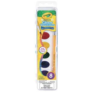 Crayola® Washable Glitter Watercolor Paints - Image 1 of 1
