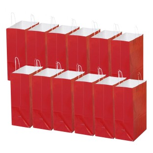 Red X-Large Gift Bags (Pack of 12) - Image 1 of 1