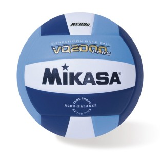 Mikasa® VQ2000 Competition Composite Indoor Volleyball, Navy/White - Image 1 of 1