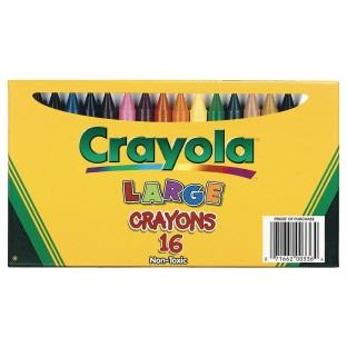 Crayola® Large Crayons (Box of 16) - Image 1 of 1