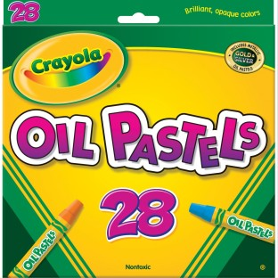 Crayola® Oil Pastels (Set of 28) - Image 1 of 1