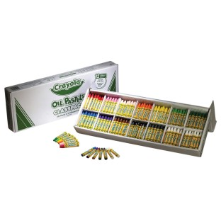 Crayola® Oil Pastels Classpack® (Box of 336) - Image 1 of 2