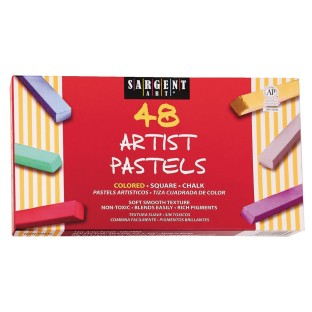 Premium Quality Pastel Chalk Assorted (Pack of 48) - Image 1 of 1