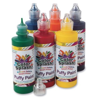 Color Splash!® Puffy Paint (Set of 6) - Image 1 of 3