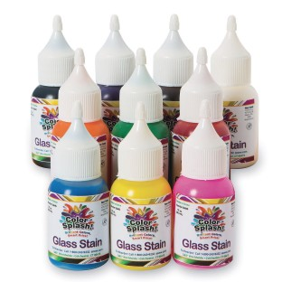Color Splash!® Glass Stain Assortment, 1 oz. (Pack of 10) - Image 1 of 1