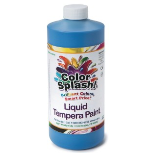 32oz. Color Splash Liquid Tempera Paint, Yellow - Image 1 of 1