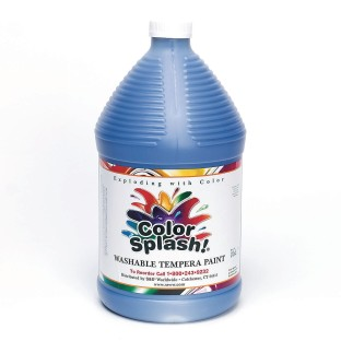 Color Splash!® Washable Tempera Paint - 128oz., Blue - Image 1 of 1