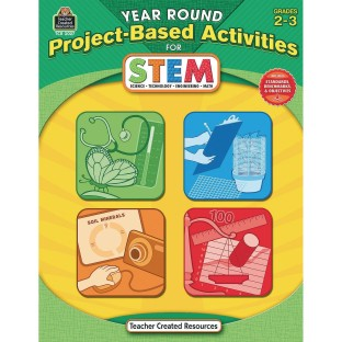 Year Round Project Based Activities for STEM Grades 2-3 Book - Image 1 of 1