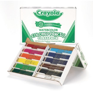 Crayola® Watercolor Pencils Classpack® (Box of 240) - Image 1 of 1