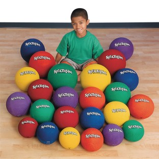 Spectrum™ Playground Ball Super Set (Set of 24) - Image 1 of 1