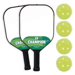 Champion® LT 2-Player Pickle-Ball® Bundle - Image 1 of 1