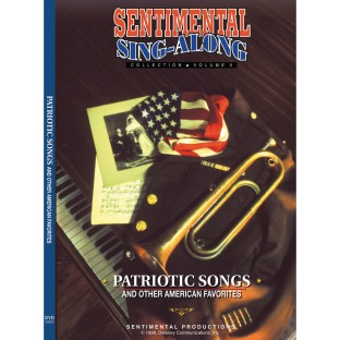 Sentimental Sing-Along DVD, Patriotic Songs & Other American Favorites - Image 1 of 1