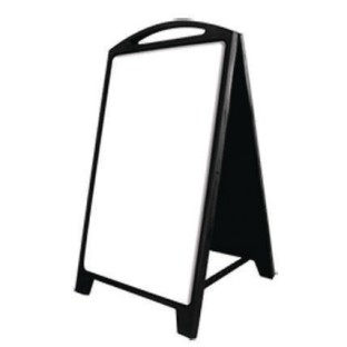 Dry Erase Plastic A-Frame Sign - Image 1 of 3