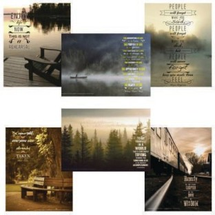Reflections Posters Series (Set of 6) - Image 1 of 6