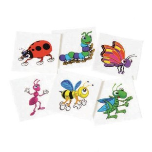 Insect Tattoos (Pack of 144) - Image 1 of 1