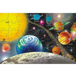 Melissa & Doug® Solar System Floor Puzzle - Image 1 of 1
