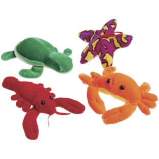 Plush Sea Life Creatures (Pack of 12) - Image 1 of 1