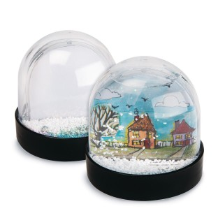 Color-Me™ Snow Globes (Pack of 12) - Image 1 of 3