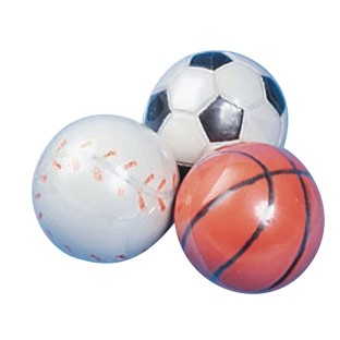 Mini Sports High Bounce Novelty Balls (Pack of 12) - Image 1 of 1