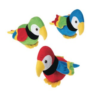 Plush Parrots (Pack of 12) - Image 1 of 1