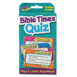 Bible Times Quiz Challenge Cards® - Image 1 of 3