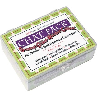 Chat Pack™ Greatest, Oldest, Weirdest, Coldest Conversation Cards - Image 1 of 2