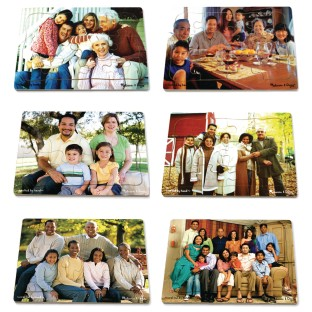 Melissa & Doug® Multicultural Families Puzzle Set (Set of 6) - Image 1 of 1