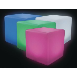 "Color Change Light Up Cube, 20"" - Image 1 of 5"