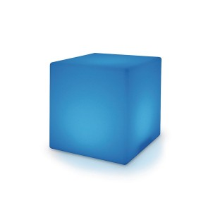 "Color Change Light Up Cube, 12"" - Image 1 of 5"