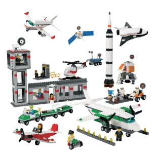 Lego® Space and Airport Set - Image 1 of 1