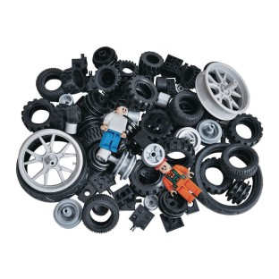 BricTek® Building Blocks Wheels Set (Set of 108) - Image 1 of 1