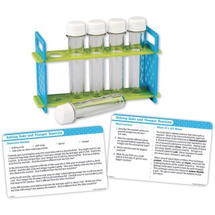 Test Tube And Activity Card Set - Image 1 of 1