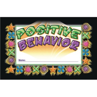 Positive Behavior Incentive Punch Cards - Image 1 of 1