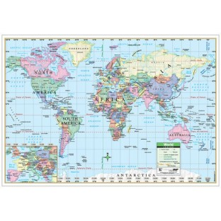 World Map (Paper) - Image 1 of 1