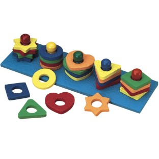 Shape and Color Sorter by Lauri® - Image 1 of 1