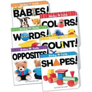 Baby Talk Board Book Set - Image 1 of 1