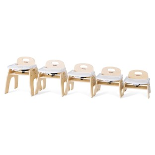 Foundations® Easy Serve™ Ultra-Efficient™ Feeding Chair (Set of 1) - Image 1 of 6