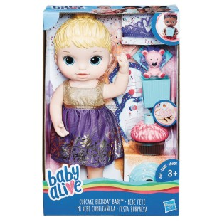 Baby Alive® Cupcake Birthday Baby Doll - Image 1 of 1
