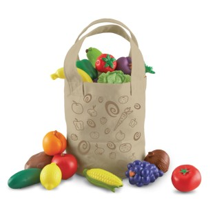 New Sprouts™ Fresh Picked Fruit & Veggie Tote - Image 1 of 1