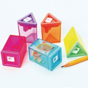 Neon Pencil Sharpeners (Pack of 12) - Image 1 of 1