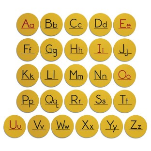 Alphabet Spot Set (Set of 26) - Image 1 of 2