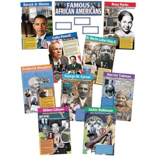 Famous African Americans (Set of 9) - Image 1 of 1