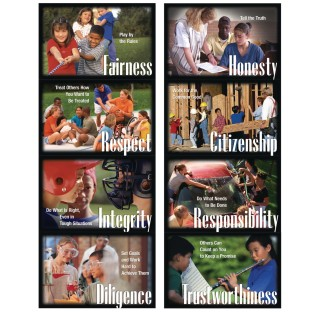 Character Education Poster Pack (Set of 8) - Image 1 of 1
