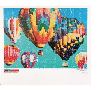 Hot Air Balloon Collaborative Sticker Mosaic - Image 1 of 3