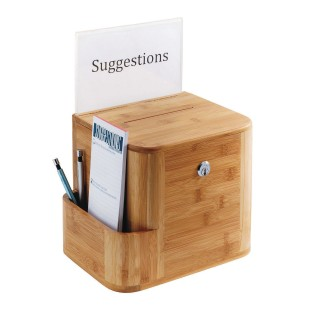 Wood Suggestion Box - Image 1 of 1