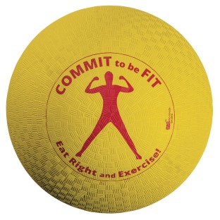 Commit To Be Fit Playground Ball - Image 1 of 1