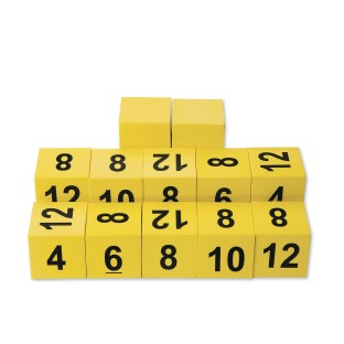 Exercise Spot Dice (Pack of 12) - Image 1 of 3