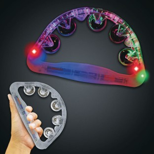 LED Light-Up Tambourine - Image 1 of 1