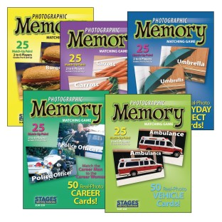 Photographic Memory Card Game, Basic Memory - Image 1 of 6